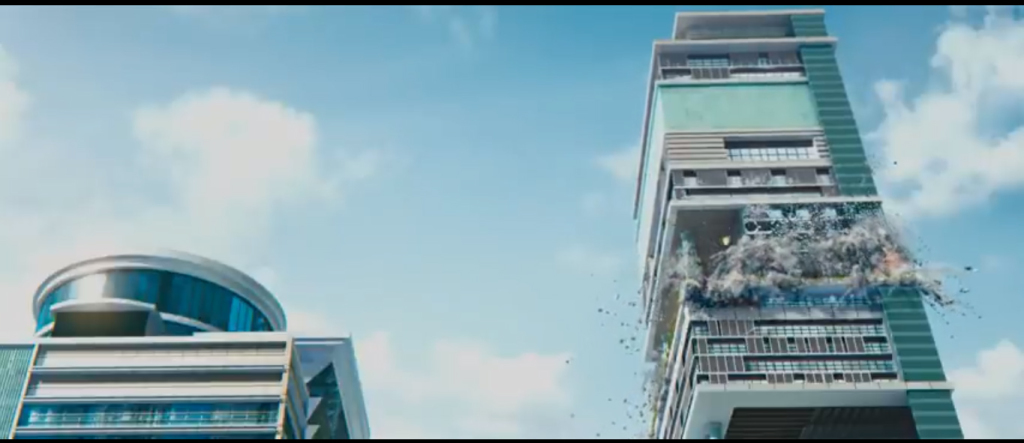 The only good part about Krrish 3 was what they did to Antilla